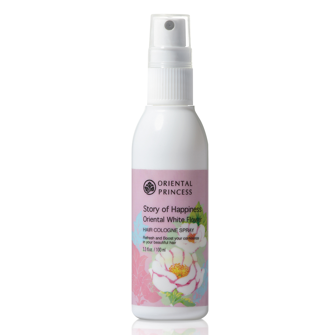 Story Of Happiness Oriental White Flower Hair Cologne Spray