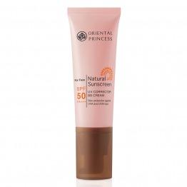 Natural Sunscreen UV Corrector BB Cream for Face SPF 50 PA+++
