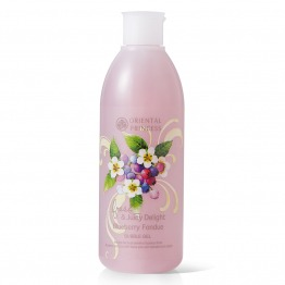 Fresh & Juicy Delight Blueberry Fondue Bubble Gel