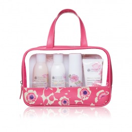 Oriental White Flower Travel Set
