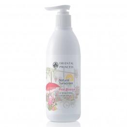 Natural Sunscreen Pear Blossom UV Brightening Lotion SPF25