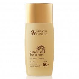 Natural Sunscreen Brilliant UV Shield For Face SPF50+ PA+++