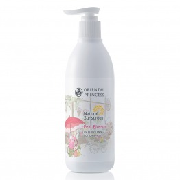 Natural Sunscreen Pear Blossom UV Brightening Lotion SPF25