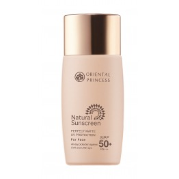 Natural Sunscreen Perfect Matte UV Protection For Face SPF50+ PA+++