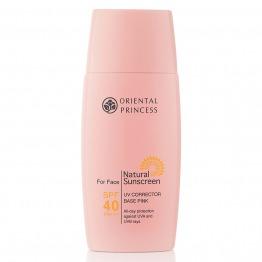 Natural Sunscreen UV Corrector Base Pink For Face SPF 40 PA+++