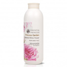 Princess Garden Oriental White Flower Perfumed Talc