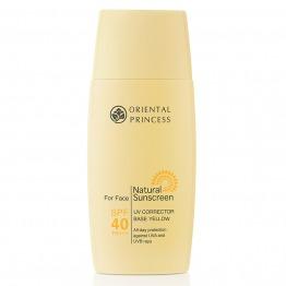 Natural Sunscreen UV Corrector Base Yellow For Face SPF 40 PA +++