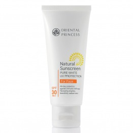 Natural Sunscreen Pure White UV Protection For Face SPF30 PA++