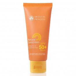 Natural Sunscreen Ultimate UV Block for Face SPF 50+ PA+++