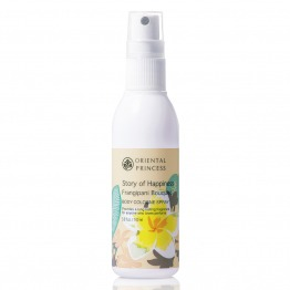 Story of Happiness Frangipani Bouquet Body Cologne Spray