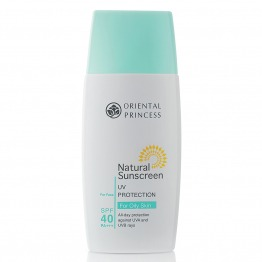 Natural Sunscreen UV Protection For Oily Skin For Face SPF 40 PA+++