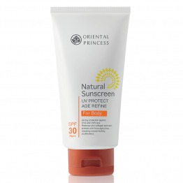 Natural Sunscreen UV Protect Age Refine For Body SPF30 PA++