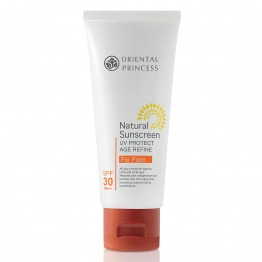 Natural Sunscreen UV Protect Age Refine For Face SPF30 PA++