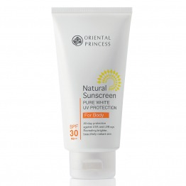 Natural Sunscreen Pure White UV Protection For Body SPF30 PA++