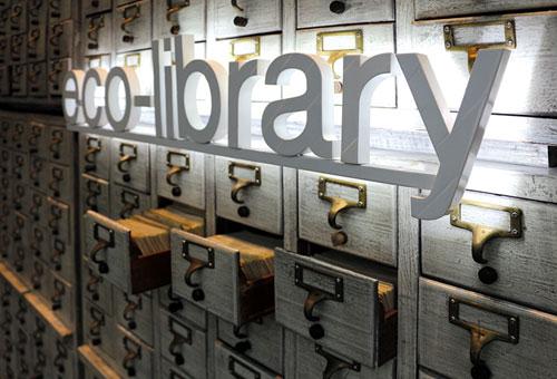 ECO – Library ... ห้องสมุดสีเขียวสุดสร้างสรรค์ ... ไปกันมารึยัง ?