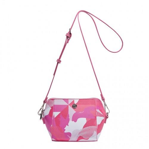 Oriental Princess Vanda Chic Coral Crossbody Bag