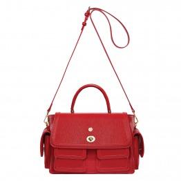 Oriental Princess Veda Rouge Satchel Signature Bag