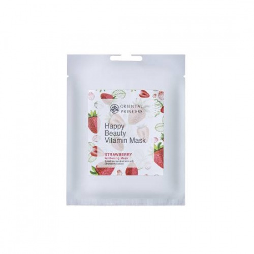 Happy Beauty Vitamin Mask Strawberry whitening Mask