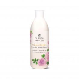 Princess Garden Oriental White Flower Shower & Bath Cream