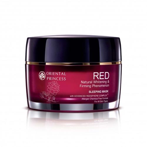 RED Natural Whitening & Firming Phenomenon Sleeping Mask