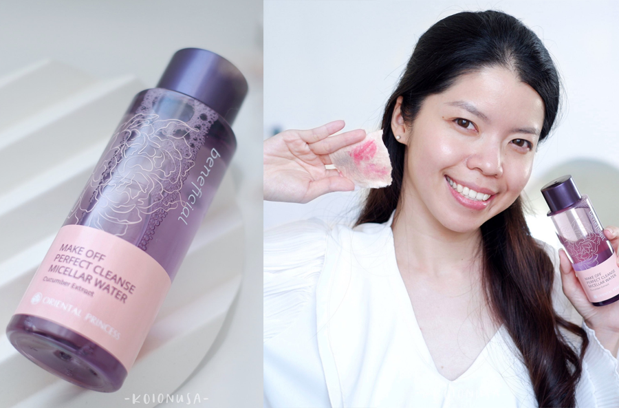 คลีนซิ่งตัวใหม่จาก Oriental Princess ล้างเมคอัพสะอาดมาก  by @gukoiiz
